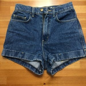 American Apparel Vintage Style Highrise Shorts